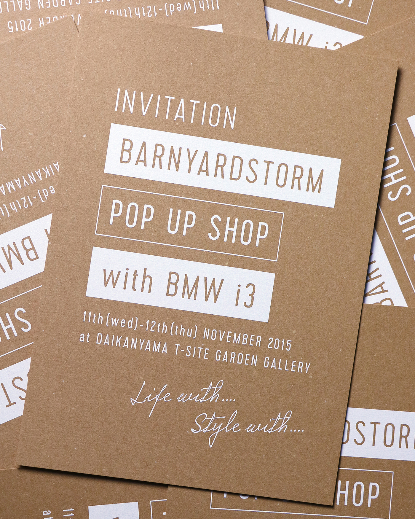 Barnyardstorm Pop Up Shop Insense Inc